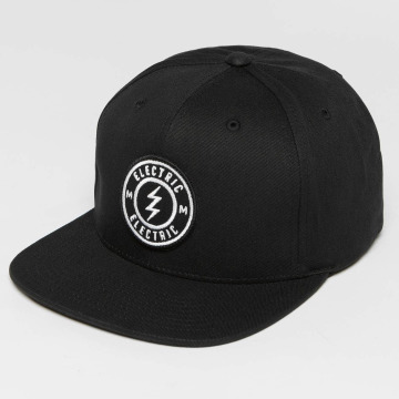 Electric Snapback Cap Voltage black