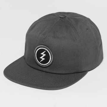 Electric Snapback Cap Volt Patch gray