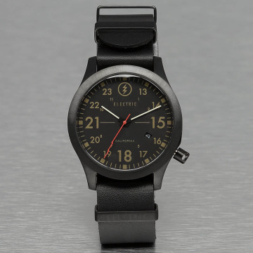 Electric Watch FW01 Leather black