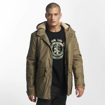 Element Winter Jacket Roghan khaki