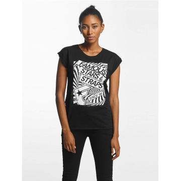 Famous Stars and Straps T-Shirt Zone black