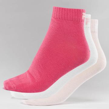 FILA Socks 3-Pack pink