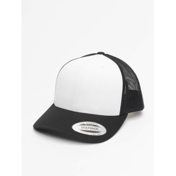 Flexfit Trucker Cap Retro Colored Front black