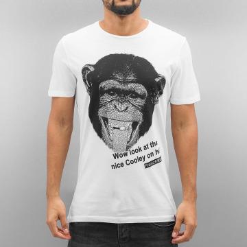 French Kick T-Shirt Momo white