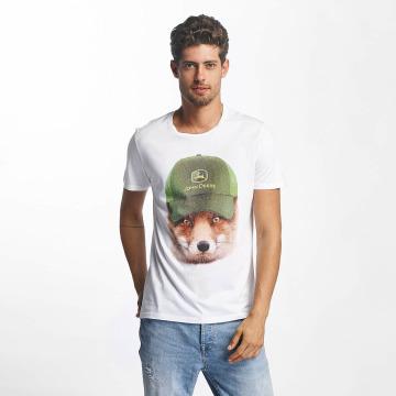 French Kick T-Shirt John white