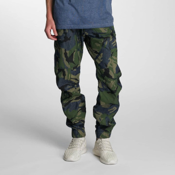 G-Star Antifit 3D Cuffed Tapered Jeans blue