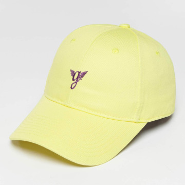 Grimey Wear Snapback Cap Heritage Curved Visor yellow