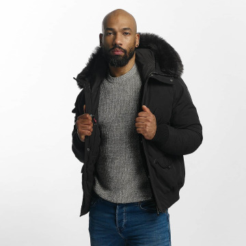 Helvetica Winter Jacket Anchorage black