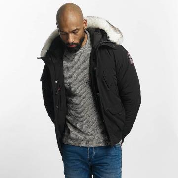 Helvetica Winter Jacket Anchorage Pure Edition black