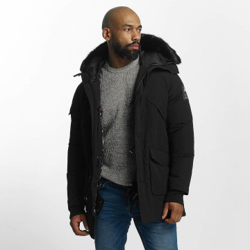 Helvetica Winter Jacket Timber Long Black Edition black