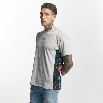 HYPE T-Shirt Flower Bed Boxy gray