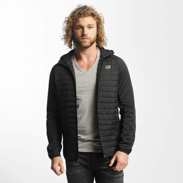Jack & Jones Lightweight Jacket jjtMulti Quilted black