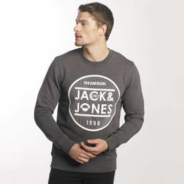 Jack & Jones Pullover jcoGeometric gray