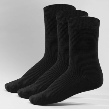 Jack & Jones Socks Fipo 3-Pack Cotton black