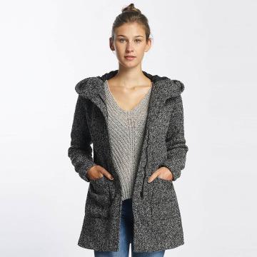 JACQUELINE de YONG Lightweight Jacket jdyOlivia Oversize Wool black
