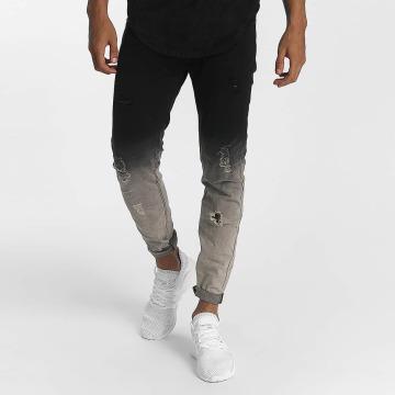 John H Slim Fit Jeans Tore black