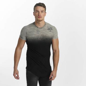 John H T-Shirt Destroyed black