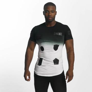 John H T-Shirt Patches white