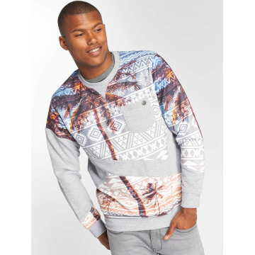 Just Rhyse Pullover Palms gray