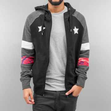 Just Rhyse Zip Hoodie Toulon black