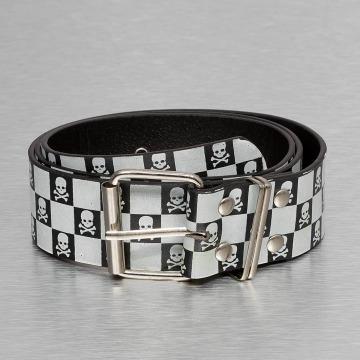 Kaiser Jewelry Belt Skull black