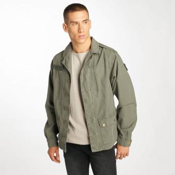 Le Temps Des Cerises Lightweight Jacket Militarie khaki