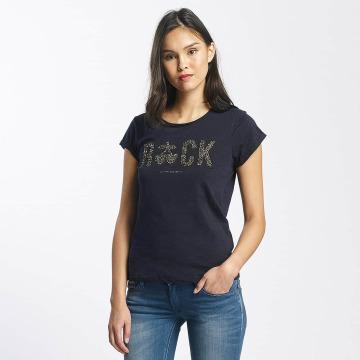 Le Temps Des Cerises T-Shirt Glitter blue