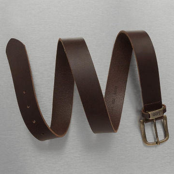 Lee Belt Logo brown