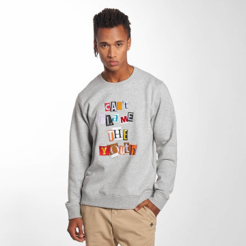 LRG Pullover Can`t Blame The Youth gray