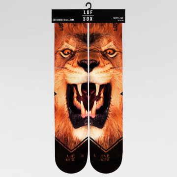 LUF SOX Socks Classics Lion brown