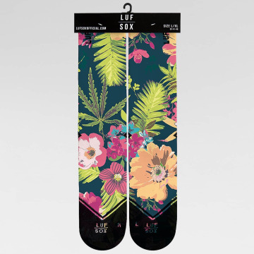 LUF SOX Socks Classics Deep Tropic colored