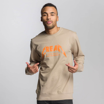 Mister Tee Pullover I Love Real beige