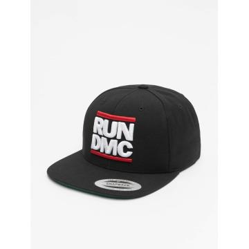 Mister Tee Snapback Cap Run DMC black