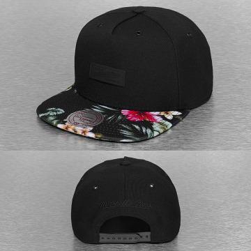 Mitchell & Ness Snapback Cap Floral Infill black