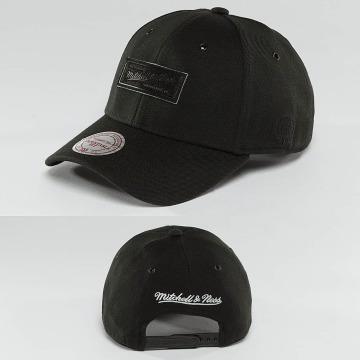 Mitchell & Ness Snapback Cap Hot Stamp Contrast black