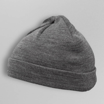 MSTRDS Hat-1 Short Cuff Knit gray