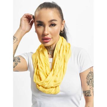 MSTRDS Scarve / Shawl Wrinkle Loop yellow