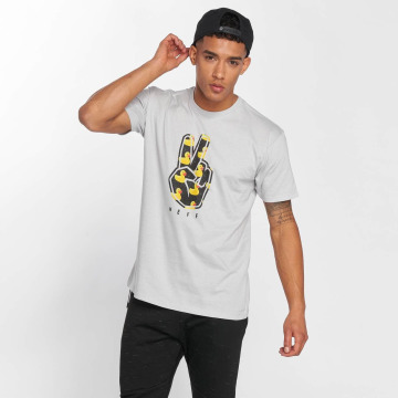 NEFF T-Shirt Peeace Out gray