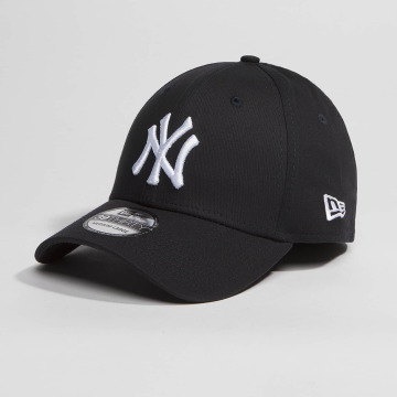 New Era Flexfitted Cap Washed Team Colour NY Yankees black