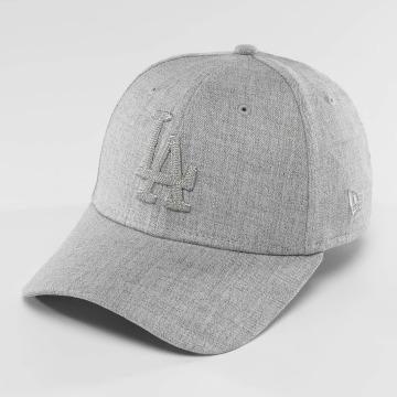 New Era Flexfitted Cap MLB Heather LA Dodgers 39Thirty gray
