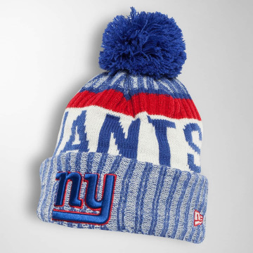 New Era Wollmützen On Fiel NFL Sport NY Giants blue