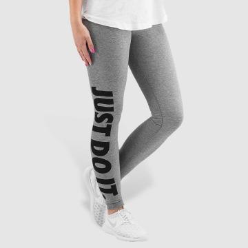 Nike Leggings/Treggings Leg-A-See Just Do It gray