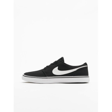 Nike SB Sneakers SB  Solarsoft Portmore II Canvas Skateboarding black