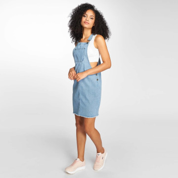 Noisy May Dress nmViola Dip Dye blue