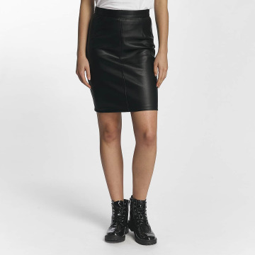 Noisy May Skirt Penny PU black