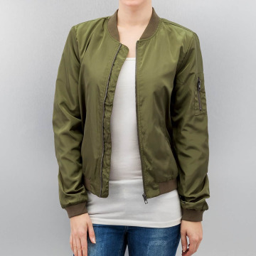 Only Bomber jacket onlLinea Nylon green