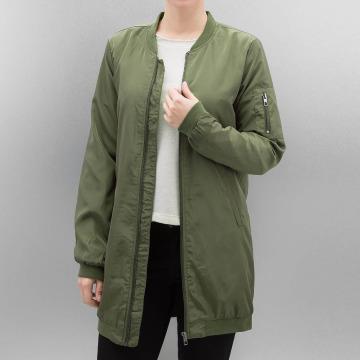 Only Bomber jacket onlLinea Long olive