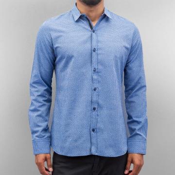 Open Shirt Dots blue