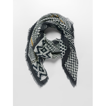 Oxbow Scarve / Shawl Quotana Printed Square black