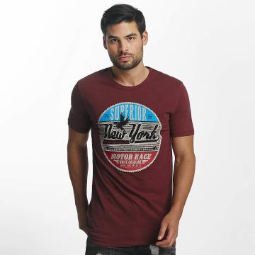 Paris Premium T-Shirt New York red